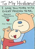 Add A Name Valentine-Hugging Bears